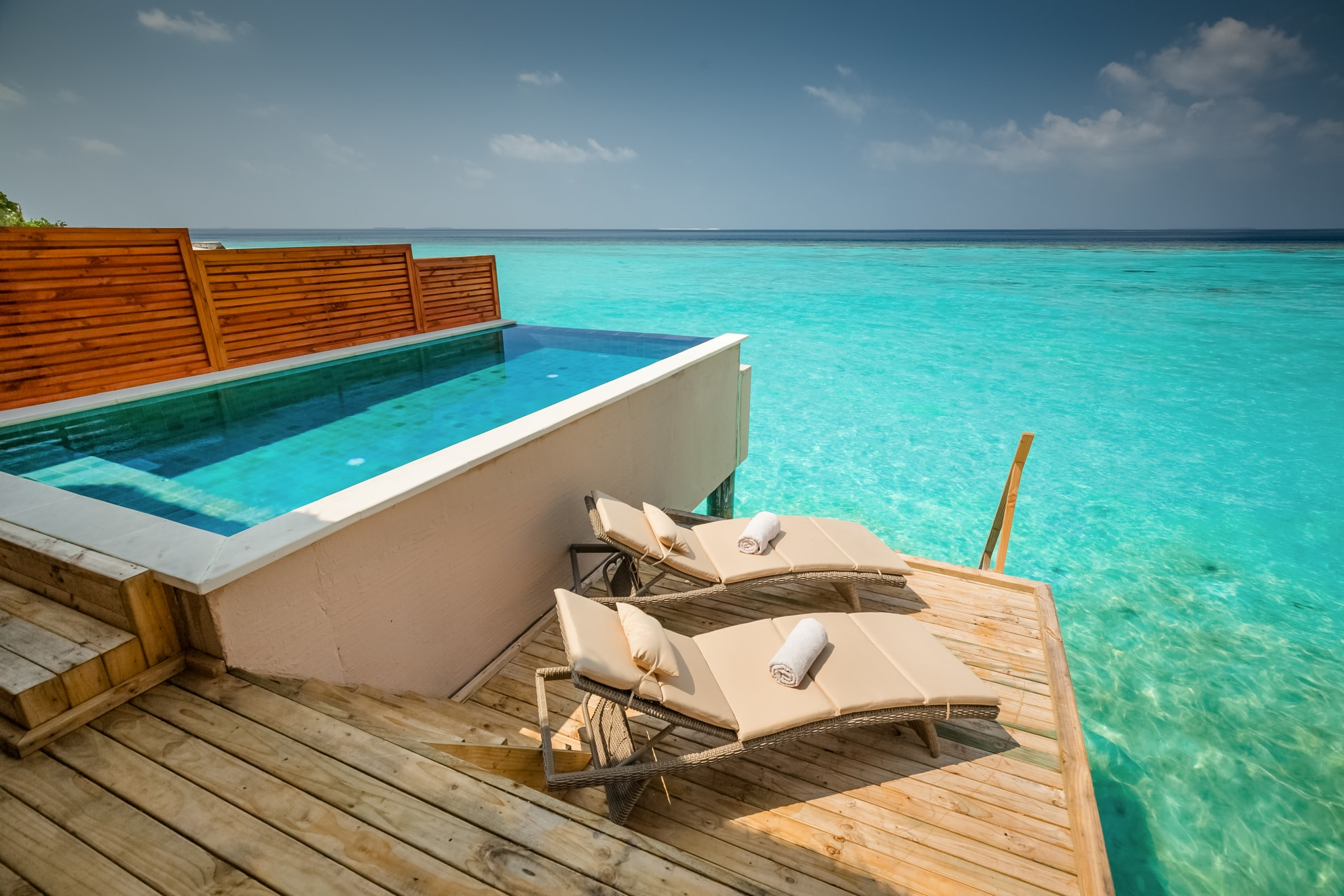 Water Pool Villas Maldive